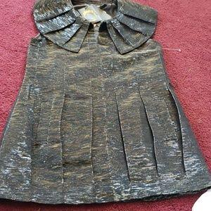 Tops - NWT pierrot collar tunic